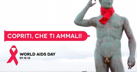 World AIDS Day - Copriti che ti ammali - Lisippo