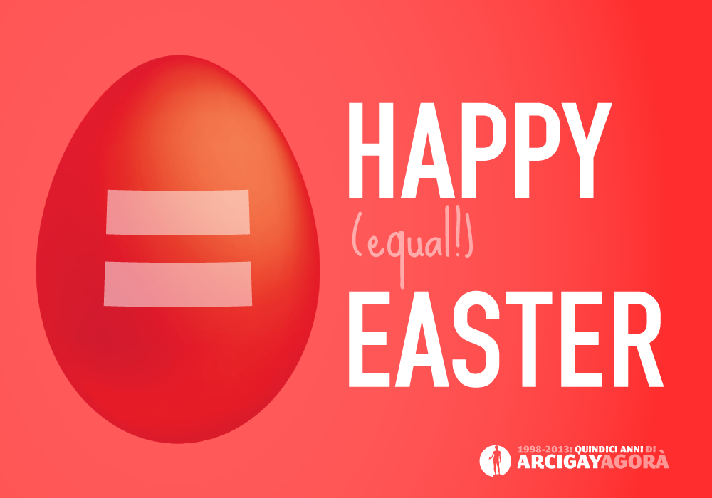 Happy Equal Easter - LGBT Rights