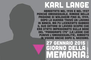 Omocausto - Karl Lange