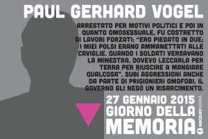 Omocausto - Paul Gerhard Vogel