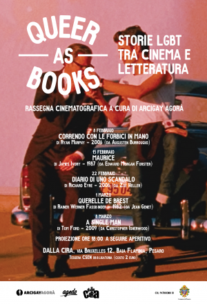 Queer as Books - Cineforum LGBT Pesaro