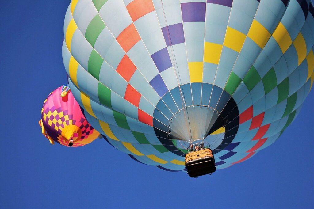 hot air balloon, albuquerque balloon fiesta, balloons
